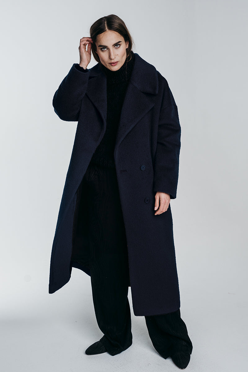 KAAMOS long coat in polar night