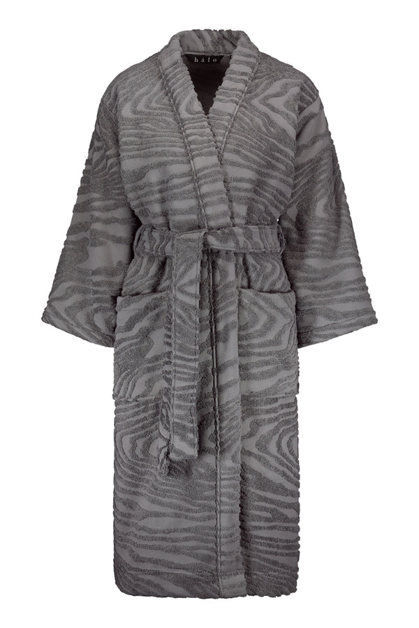 KAARNA bathrobe in grey