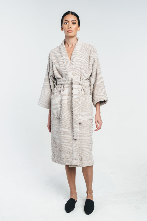 KAARNA bathrobe in sand