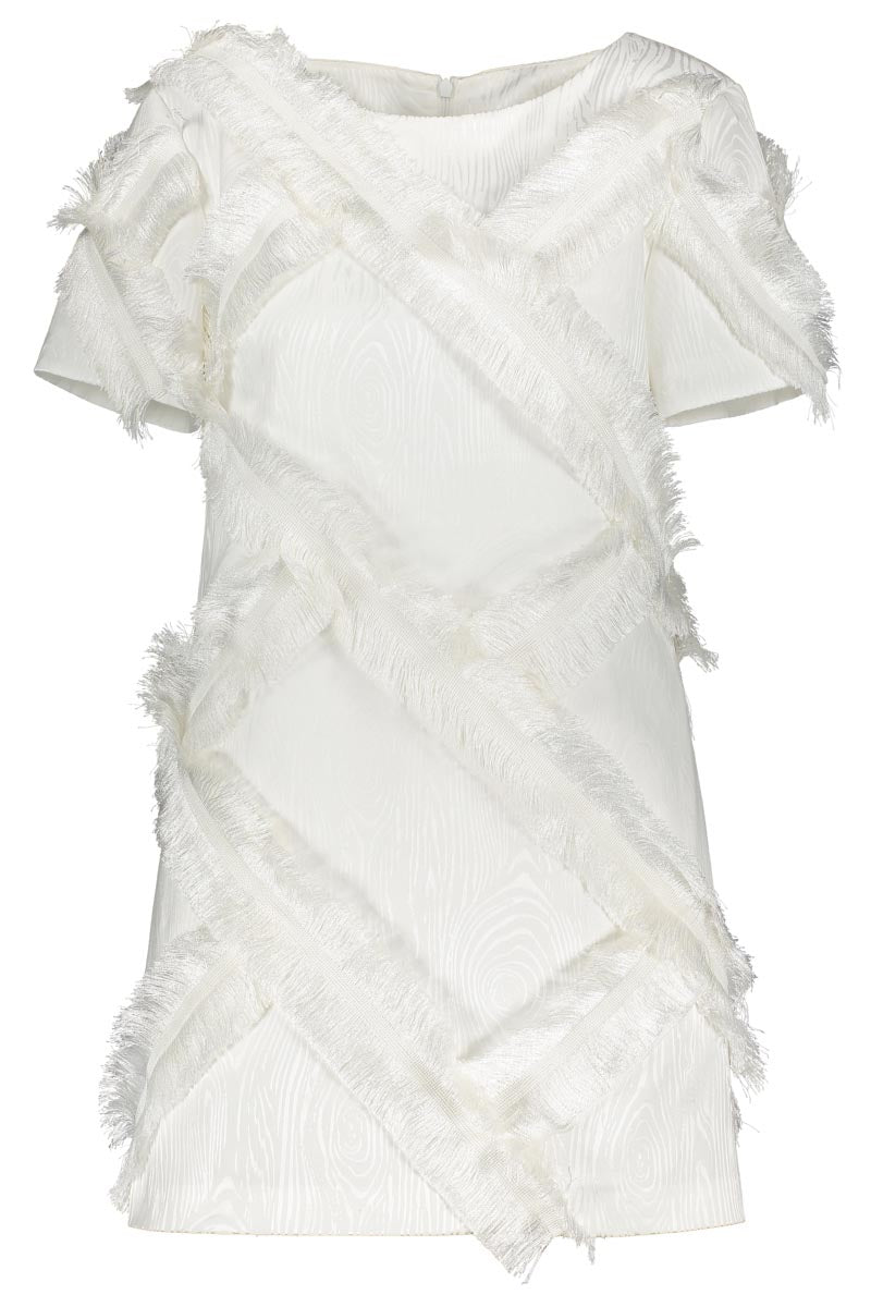 KAARNA dress in white