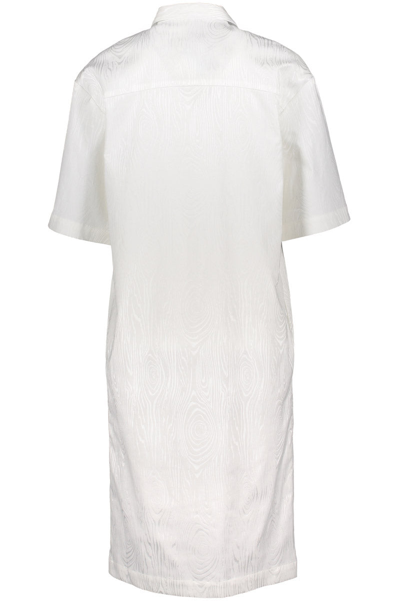 KAARNA shirt dress in white