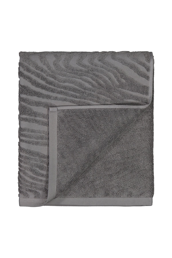 KAARNA bath towel in grey