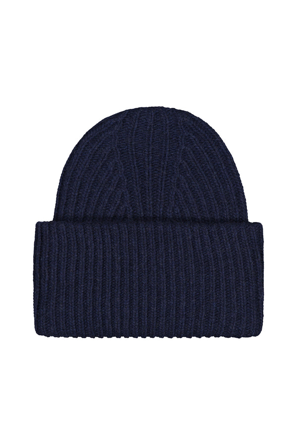 KAJO cashmere beanie in polar night