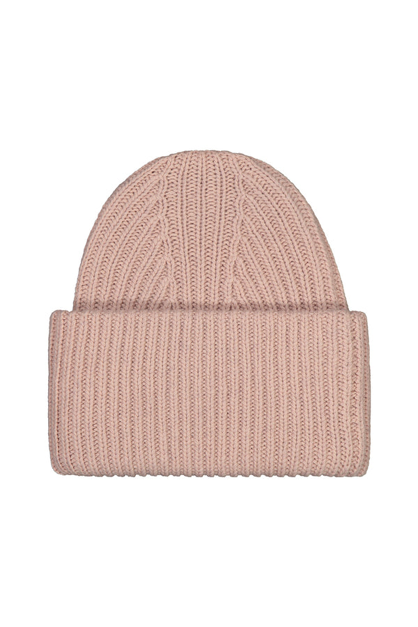KAJO cashmere beanie in powder