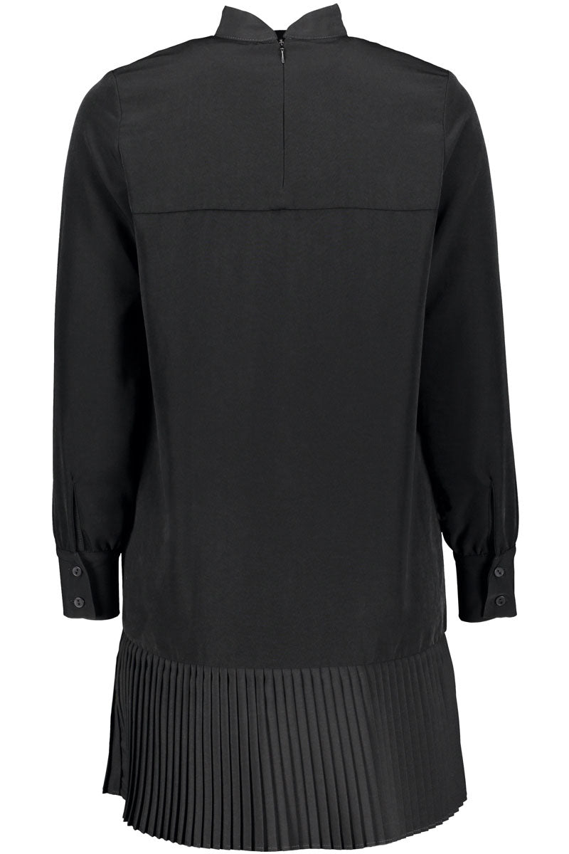 KAJO shirt dress in black