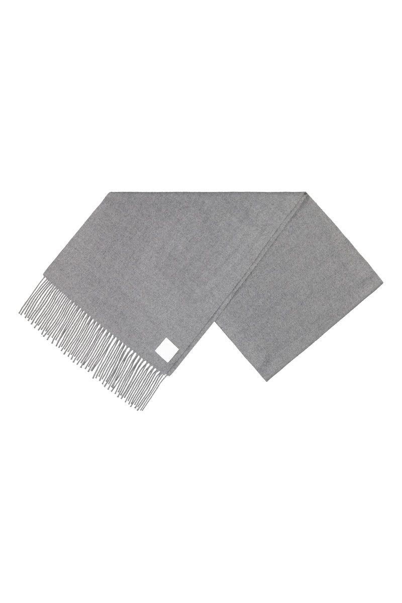 KAJO wool scarf in grey