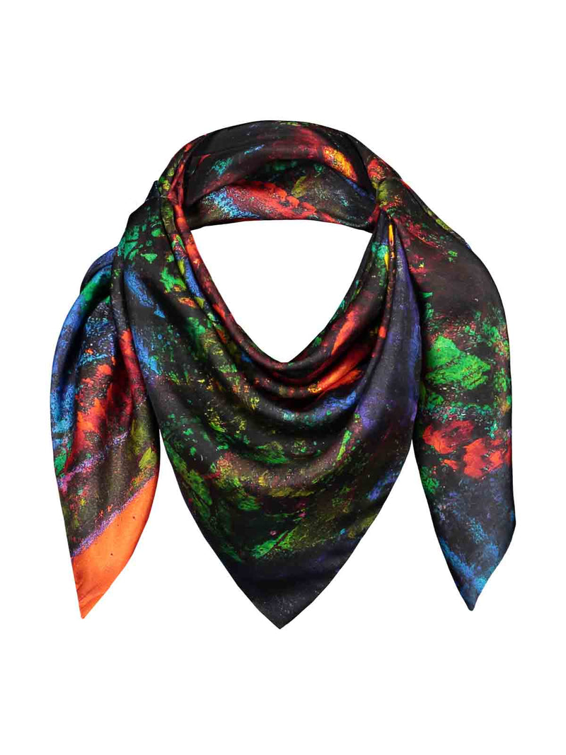 REIDAR scarf 'Strange Flowers Bloom At Night'