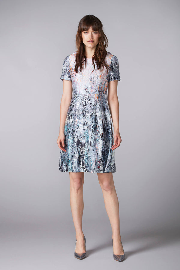 REIDAR short sleeved dress