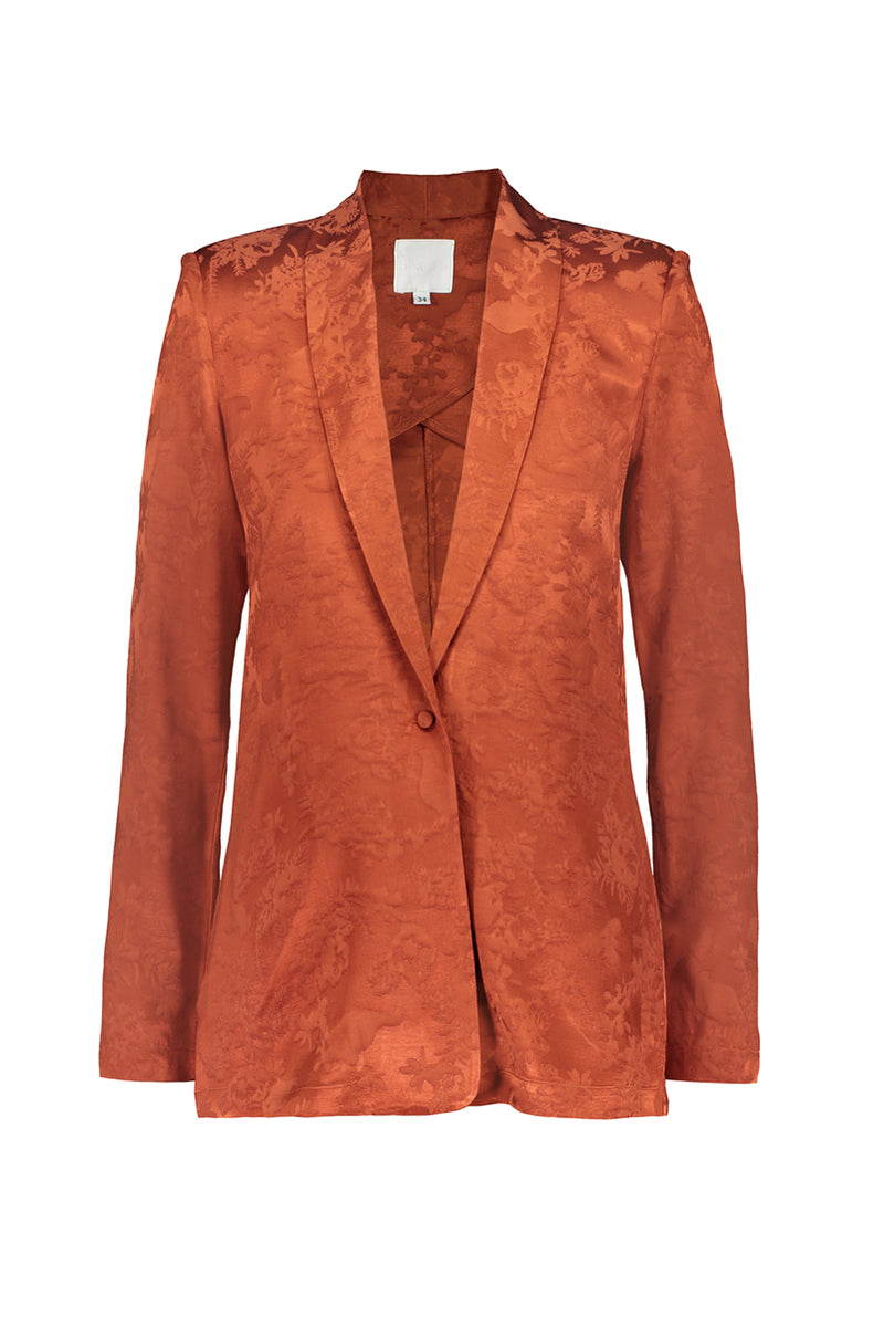 RUSKA blazer in copper