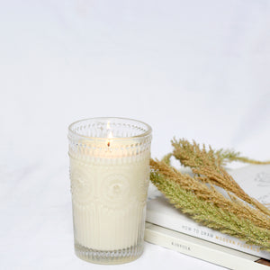 Soy Candle in Limited Edition Glass: A Collab with A la Fourchette