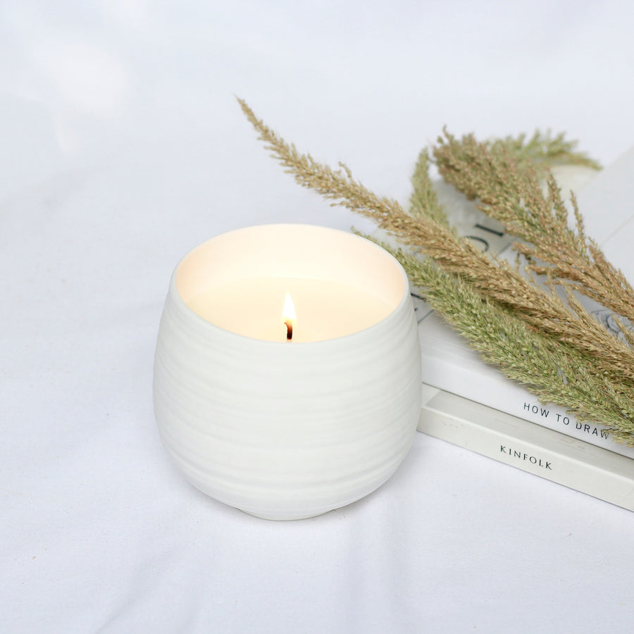 Soy Candle in Limited Edition Bone China