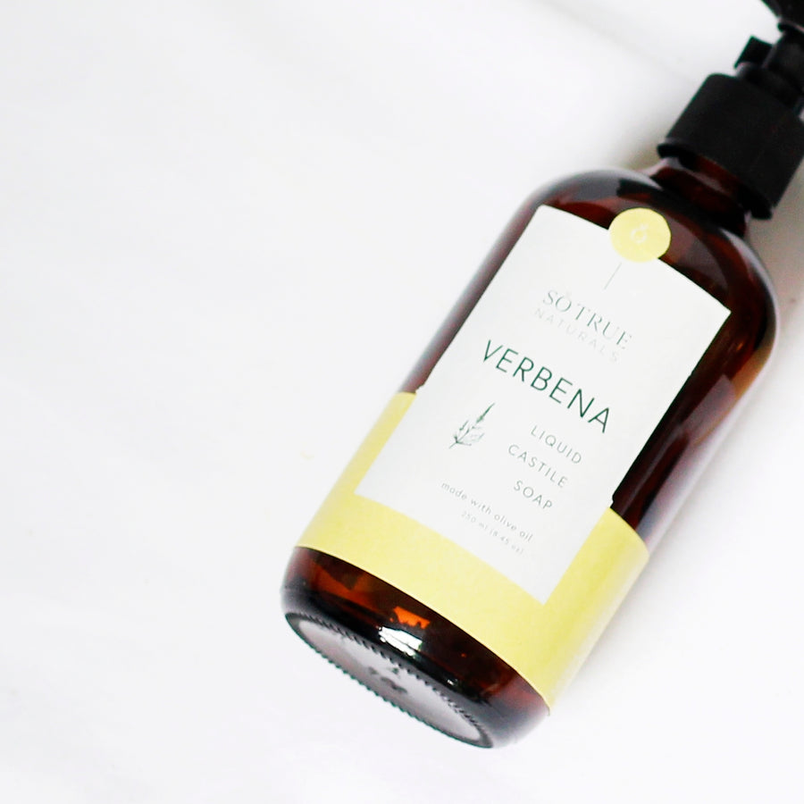 Clearance - Verbena Liquid Castile Soap