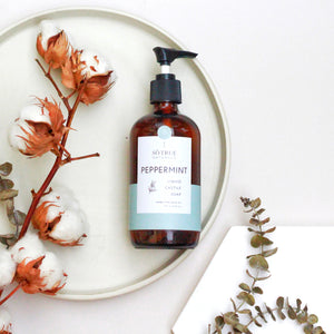 Liquid Castile Soap - Peppermint
