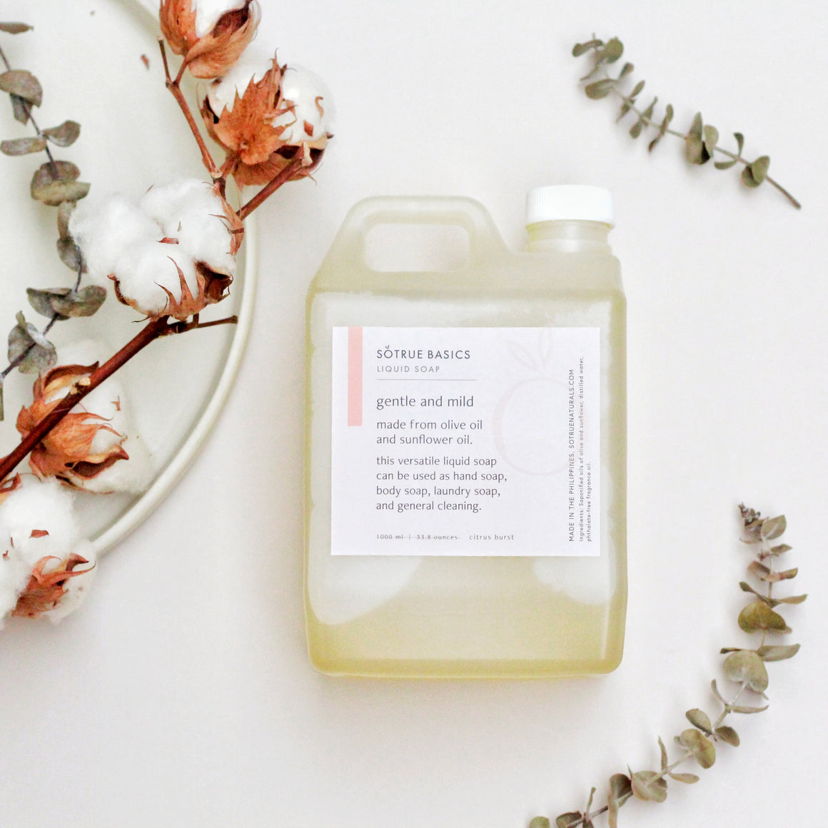 So True Basics - Natural Liquid Soap
