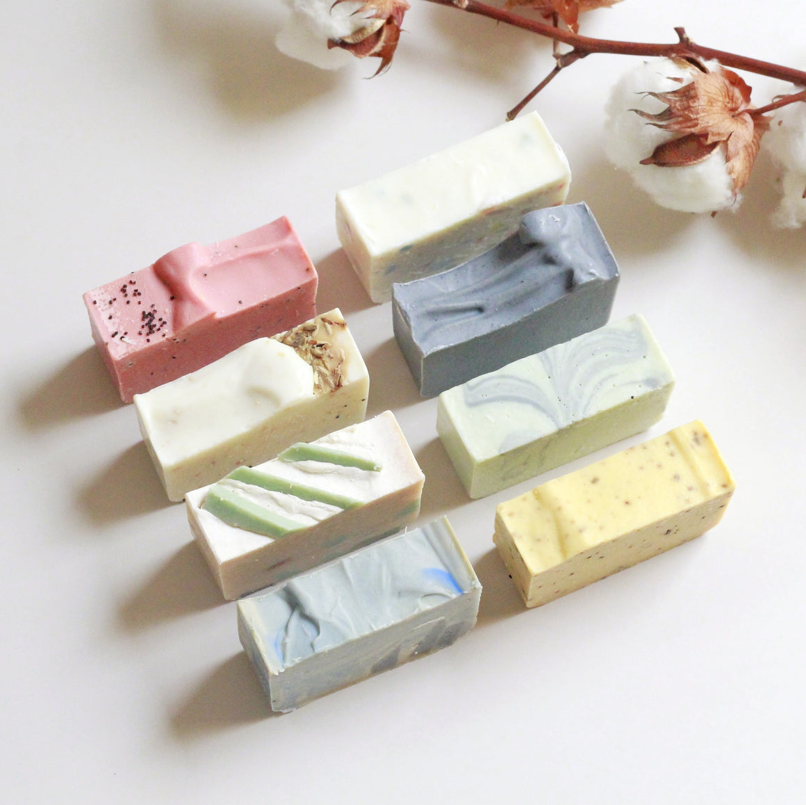 8pc Castile Soap Gift Set