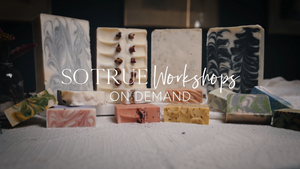 Workshop On-Demand BUNDLE: Bar Soap, Liquid Soap & Natural Home Scents (Take 3!)