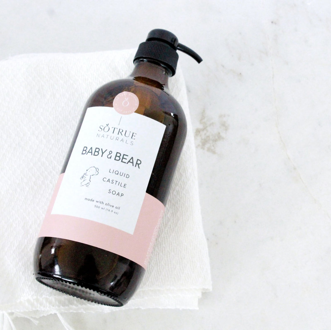 Liquid Castile Soap - Baby and Bear (Limited)