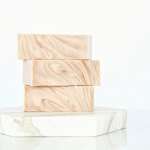 Castile Face Soap - Rose Geranium