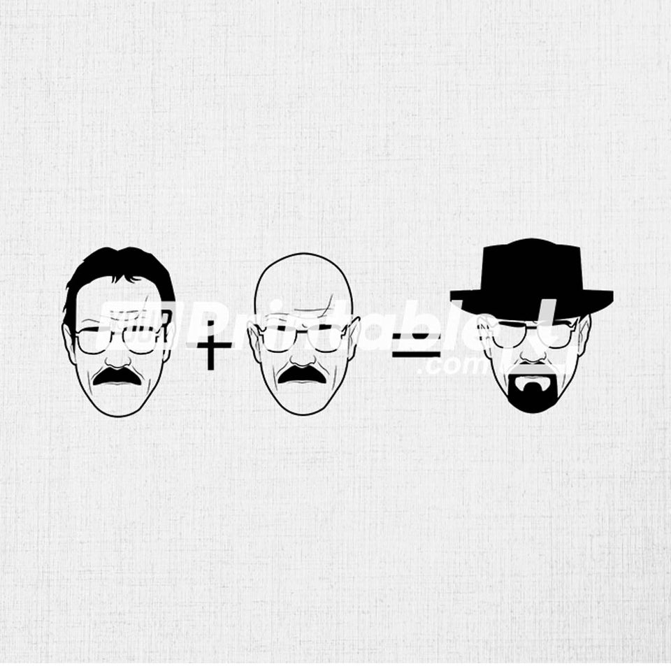 Breaking Bad Illustration - Digital Download