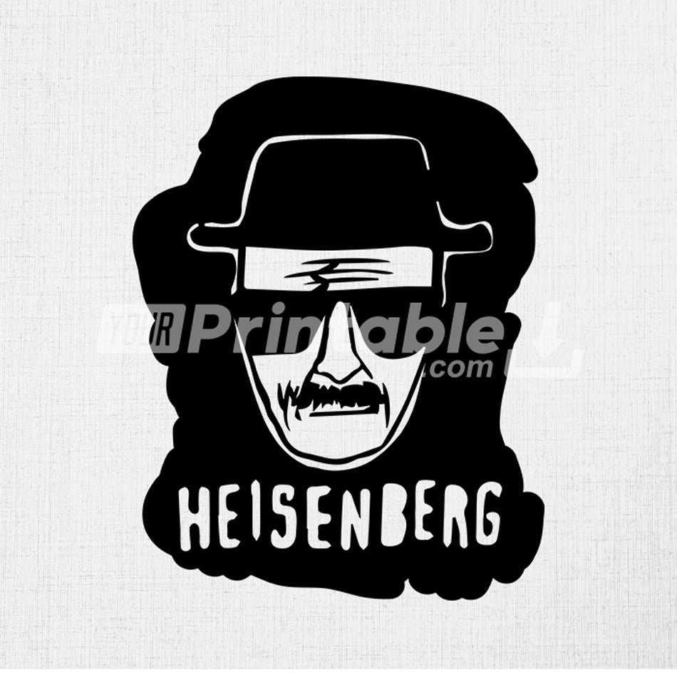 Heisenberg Breaking Bad Illustration - Digital Download