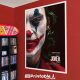 Joker Movie Original Poster Wall Art