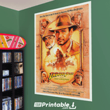 Indiana Jones and the Last Crusade Movie Original Poster