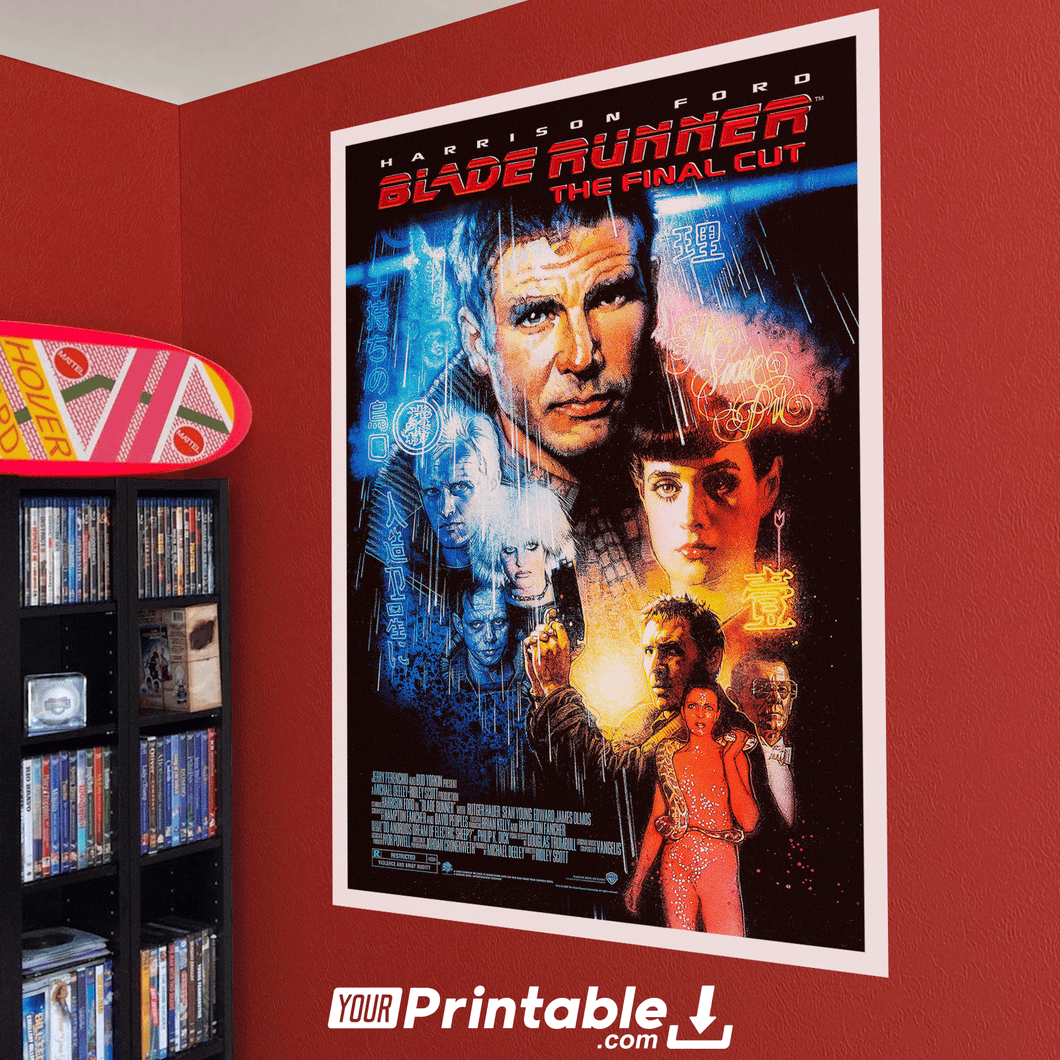 Blade Runner 2 Movie Original Poster Wall Art