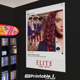 Elite Instagram Post Effect Original Poster