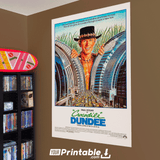 Crocodile Dundee Movie Original Poster Wall Art