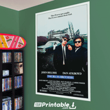 Blues Brothers 2 Movie Original Poster Wall Art