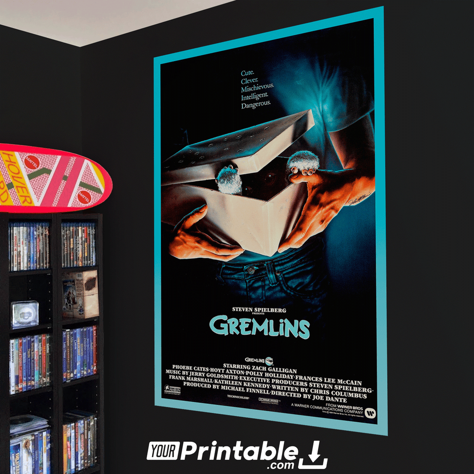 Gremlins Movie Original Poster Wall Art