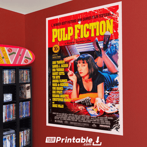 Pulp Fiction Movie Original Poster Wall Art