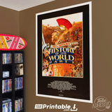History of the World Movie Original Poster Wall Art