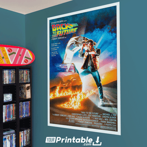 Back To The Future Movie Original Poster Wall Art
