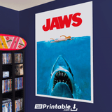 Jaws Movie Original Poster Wall Art