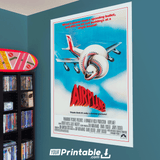 Airplane Movie Original Poster Wall Art