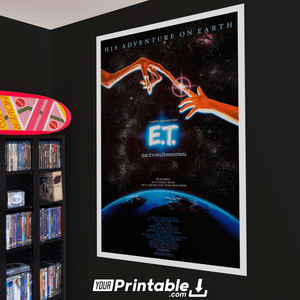 Et The Extra-Terrestrial 2 Movie Original Poster Wall Art