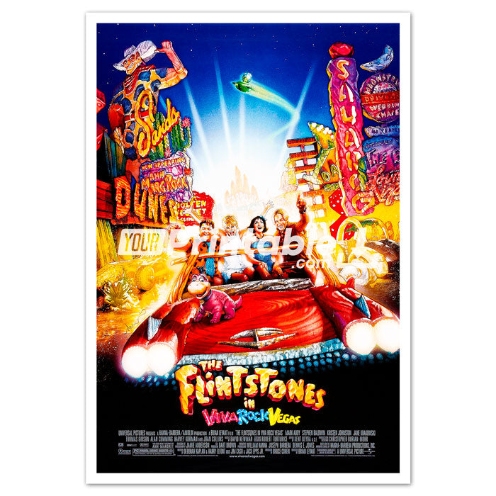 Flintstones Movie Original Poster Wall Art