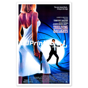 James Bond Movie Original Poster Wall Art