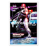 Robocop Movie Original Poster Wall Art