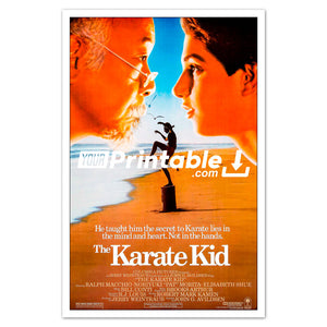 Karate Kid Movie Original Poster Wall Art