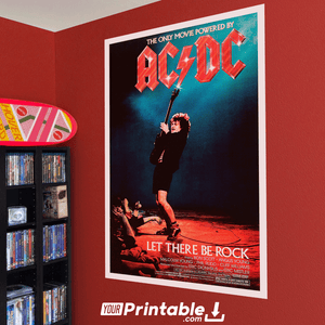 ACDC Movie Original Poster Wall Art