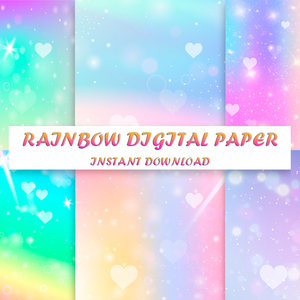 Rainbow Digital Paper