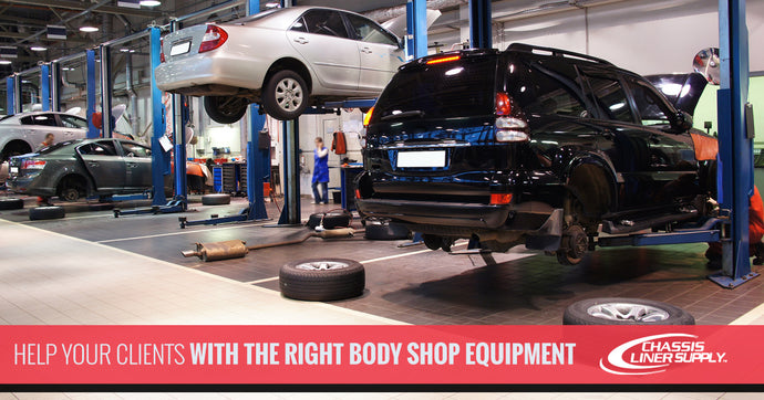 Help Your Clients With the Right Body Shop Equipment