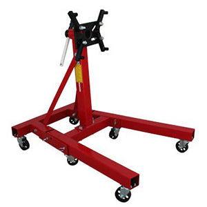 Engine Stand, 2,000 lbs. Capacity, Foldable