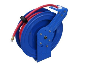 "Atlas Metal Hose Reel, 3/8"" ID x 33'"