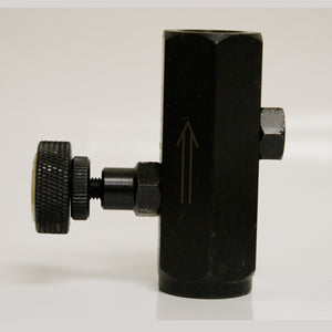 Adjustable Flow Restrictor