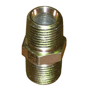 "Hydraulic Coupler, 3/8"" NPT, Male / Male"