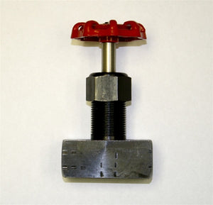 "Hydraulic Needle Valve, 3/8"" NPT Male / Female"