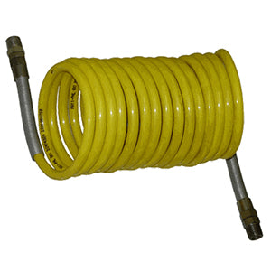 Colied 12' Nylon Hose